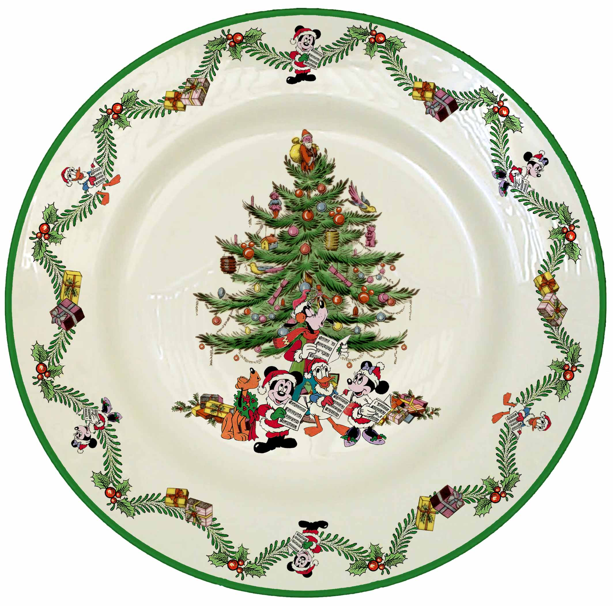 Spode Disney Christmas Collection Set Spode Disney 12  Service Plate 30CTD085 ...  sc 1 st  The Enchanted Castle Offering Licensed Disney Producs and Animation Art & The Enchanted Castle: Offering Licensed Disney Producs and Animation Art