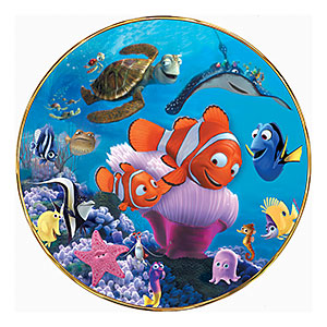 Available Exclusively From The Bradford Exchange This Limited Edition Finding Nemo Collectible Is A Premiere Issue In Collection